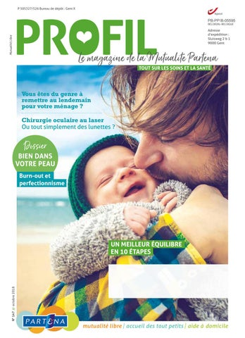 8eab734baca8a Profil 147 - Edition octobre 2018 by Partena Ziekenfonds - issuu