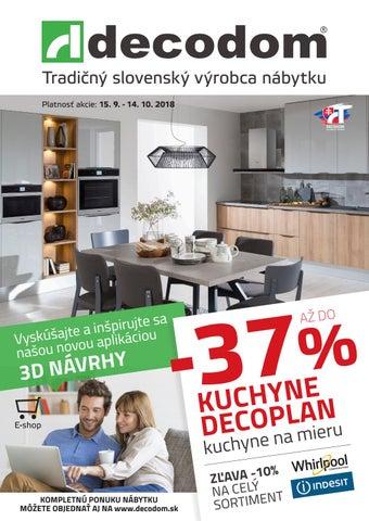 2acc036f46d0 Tradičný slovenský výrobca nábytku Platnosť akcie  15. 9. - 14. 10. 2018