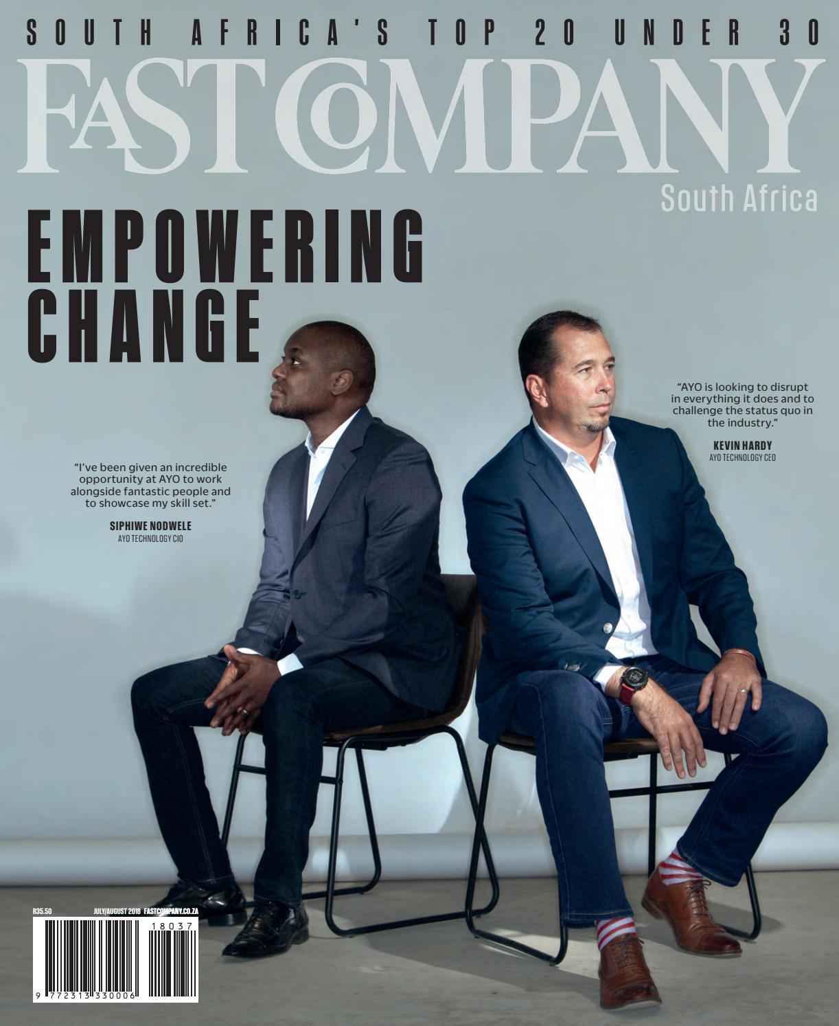 Fast Company SA July/August - Issue 37 by Fast Company SA - issuu