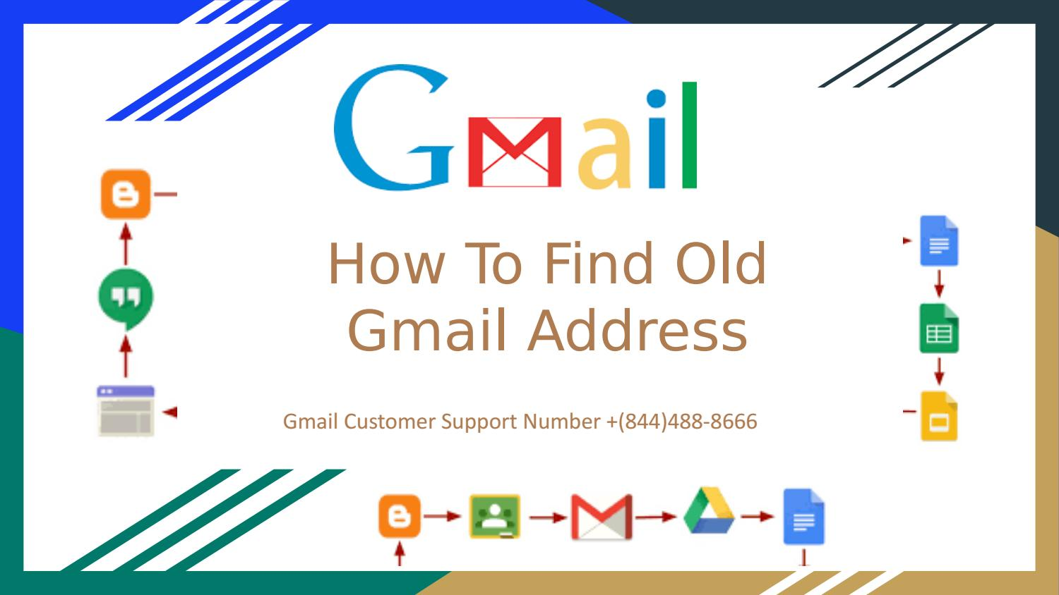 How To Find Old Gmail Address