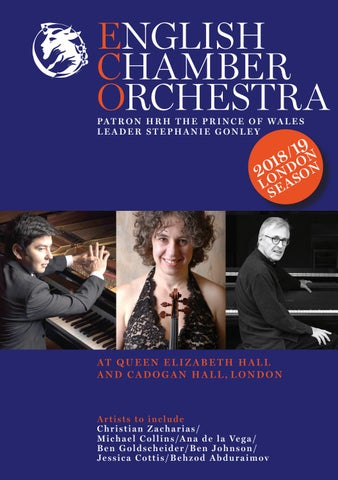 English Chamber Orchestra - 2018/19 London Concert Season by