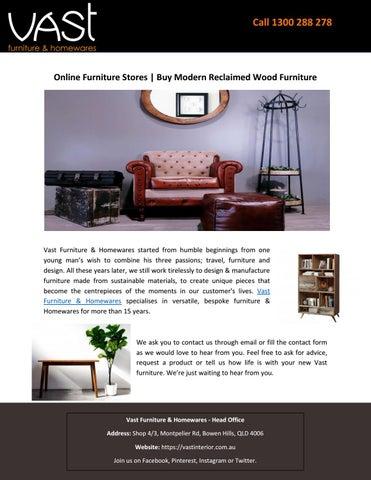 Online Furniture Stores   Buy Modern Reclaimed Wood