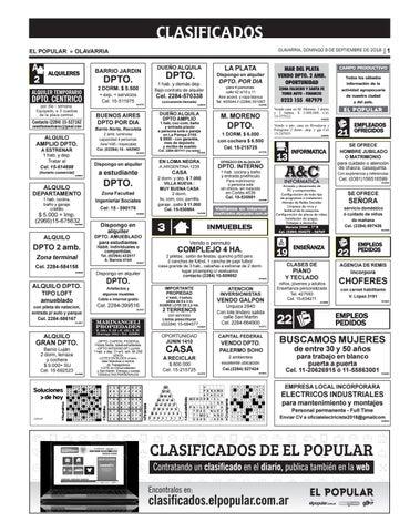 Clasificados del día 09 09 2018 by diarioelpopular - issuu 39372c38df4
