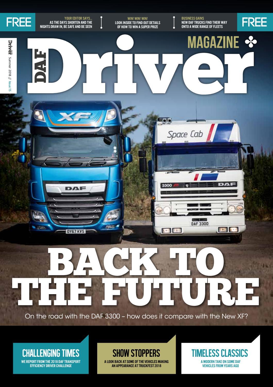 DAF Driver Summer 20 – issue 20 by i•creation   issuu