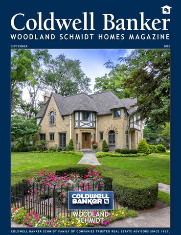 6b14cdb9a66 CBWS Homes Mag Sep 2018 by Coldwell Banker Schmidt Family of ...