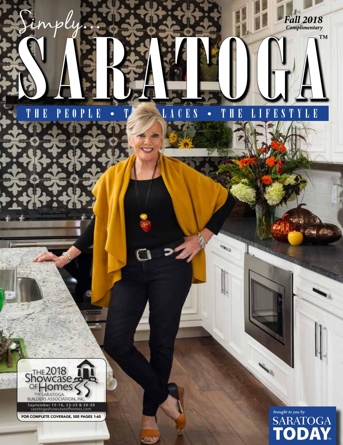 25c2448f0 Simply SARATOGA - Showcase of Homes Fall Edition 2018 by Saratoga TODAY -  issuu