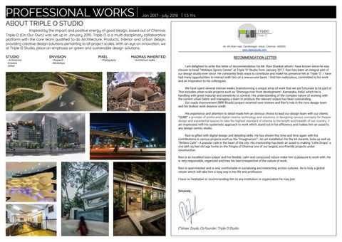 Page 6 of Professional works