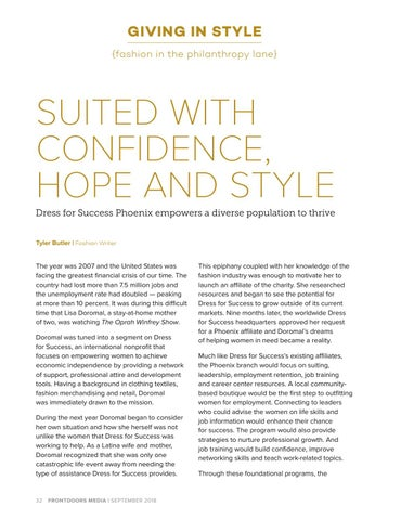 Page 32 of Suited with Confidence, Hope and Style