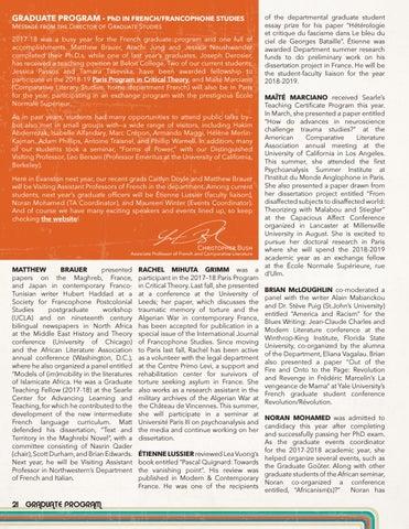 Page 22 of Graduate Program