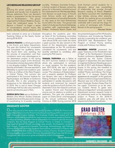 Page 23 of Graduate Program