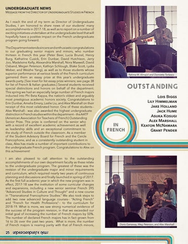 Page 26 of Undergraduate News