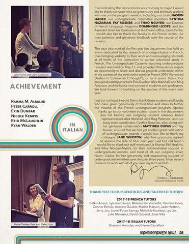 Page 27 of Undergraduate News