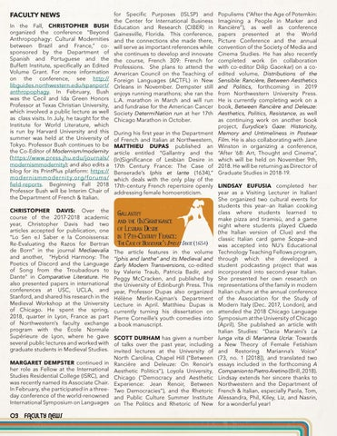 Page 4 of Faculty News
