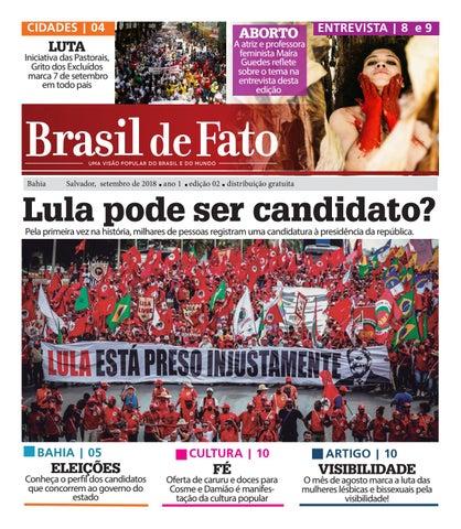 3793b76b93 Edição 02 do Brasil de Fato BA by Brasil de Fato Bahia - issuu