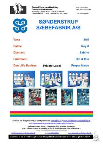 2b930ca6fc5 Dansk Erhvervsbeklædning - Dansk Skilte Reklame - Issuu