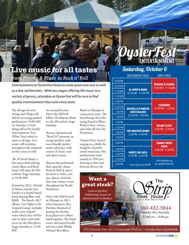 Page 15 of Entertainment at OysterFest