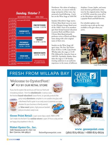 Page 16 of Displays at OysterFest