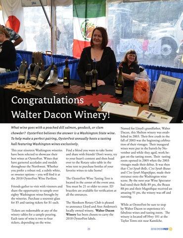 Page 25 of Congratulations Walter Dacon Winery