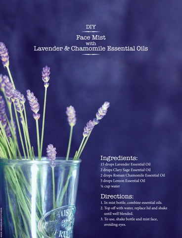 Page 18 of DIY Face Mist with Lavender & Chamomile Essential Oils