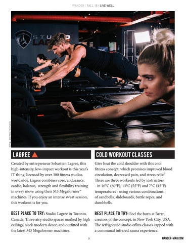 Page 21 of Hot (and Cold!) Fitness Trends