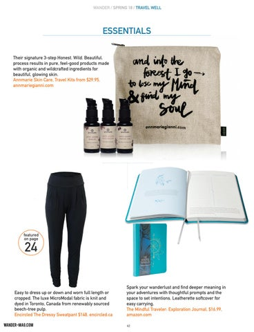 Page 42 of Wellness Travel Essentials
