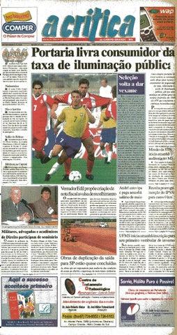 3bd6997e1f Jornal A Critica - Edição 1031- 03 06 2001 by JORNAL A CRITICA - issuu