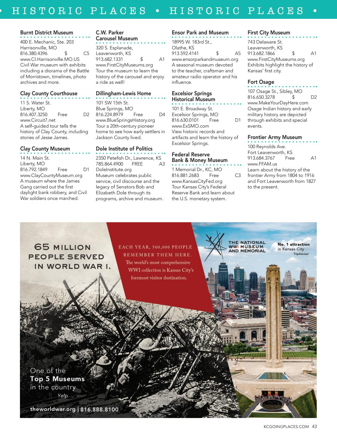 KC Going Places Magazine Fall-Winter 2018-2019 by KC Parent