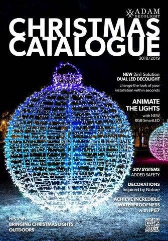 Led Weihnachtsbeleuchtung Komet.Adam Decolight Christmas Lighting Catalog 2018 2019 By Adam