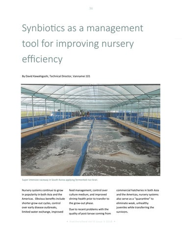 Page 36 of Synbiotics as a management tool for improving nursery efficiency