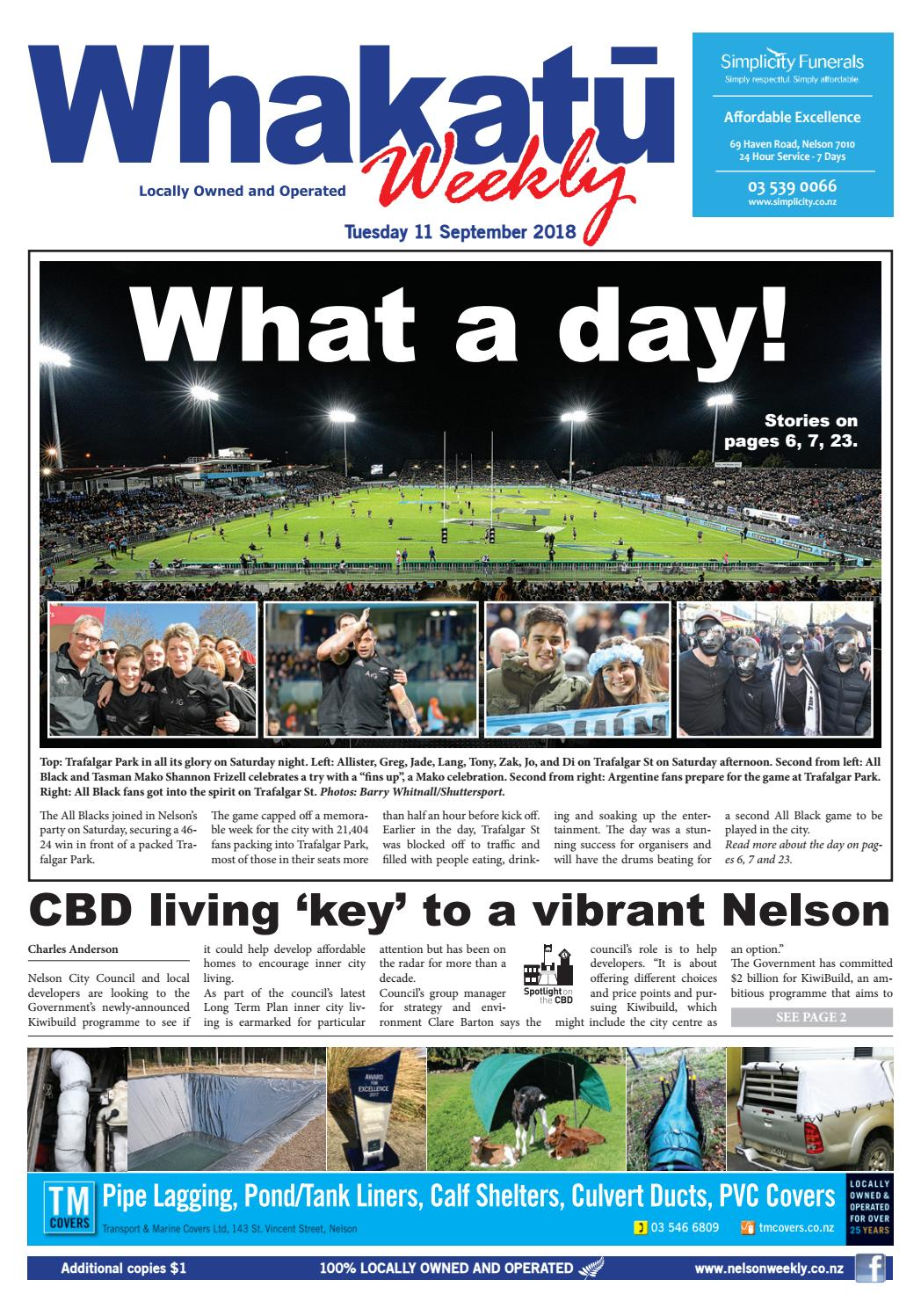 11 September 2018 By Nelson Weekly Issuu Reece Wiring Harness Toyota