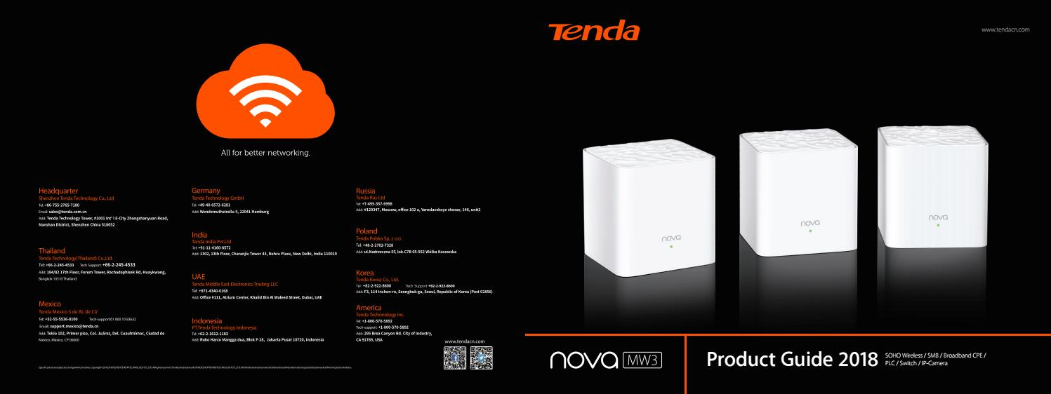 Portafolio De Servicios Productos Tenda By Jorge Escarria Issuu Access Point Ap4 300mbps Support Poe