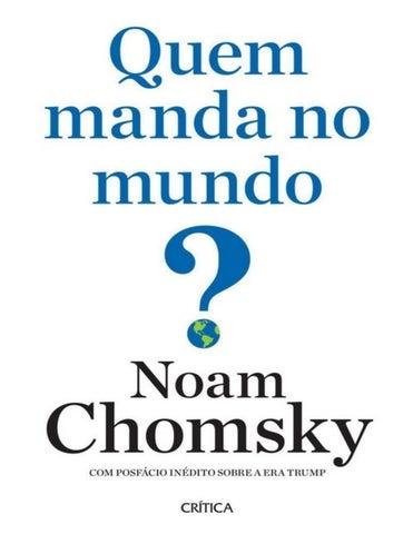 5d01b182cdd3d Copyright © L. Valéria Galvão Wasserman-Chomsky, 2016 Copyright © Editora  Planeta do Brasil, 2017 Publicado em acordo com Metropolitan Books, uma  divisão da ...