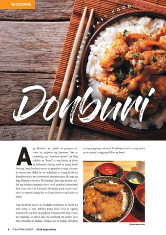 Page 8 of Donburi: The Japanese Fast Food