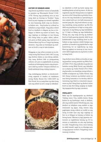 Page 9 of Donburi: The Japanese Fast Food