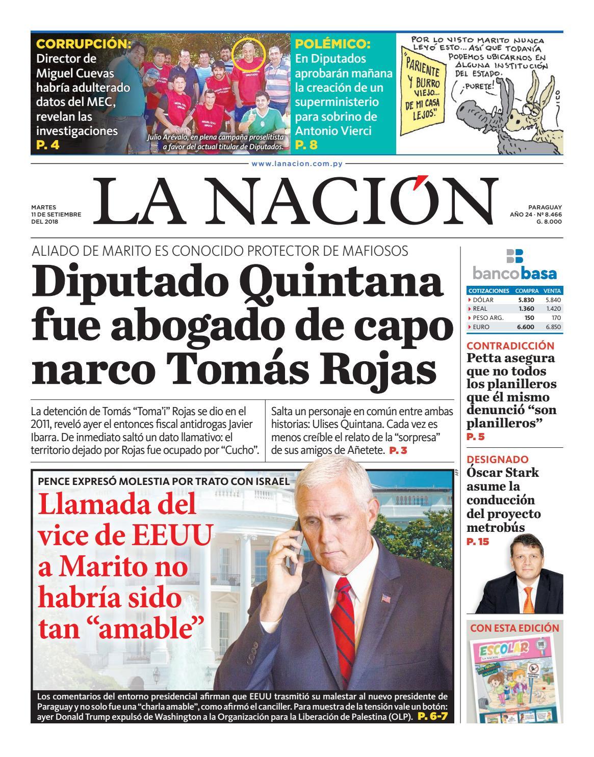 DIARIO LA NACIÓN - EDICIÓN 8.466 by La Nación - issuu