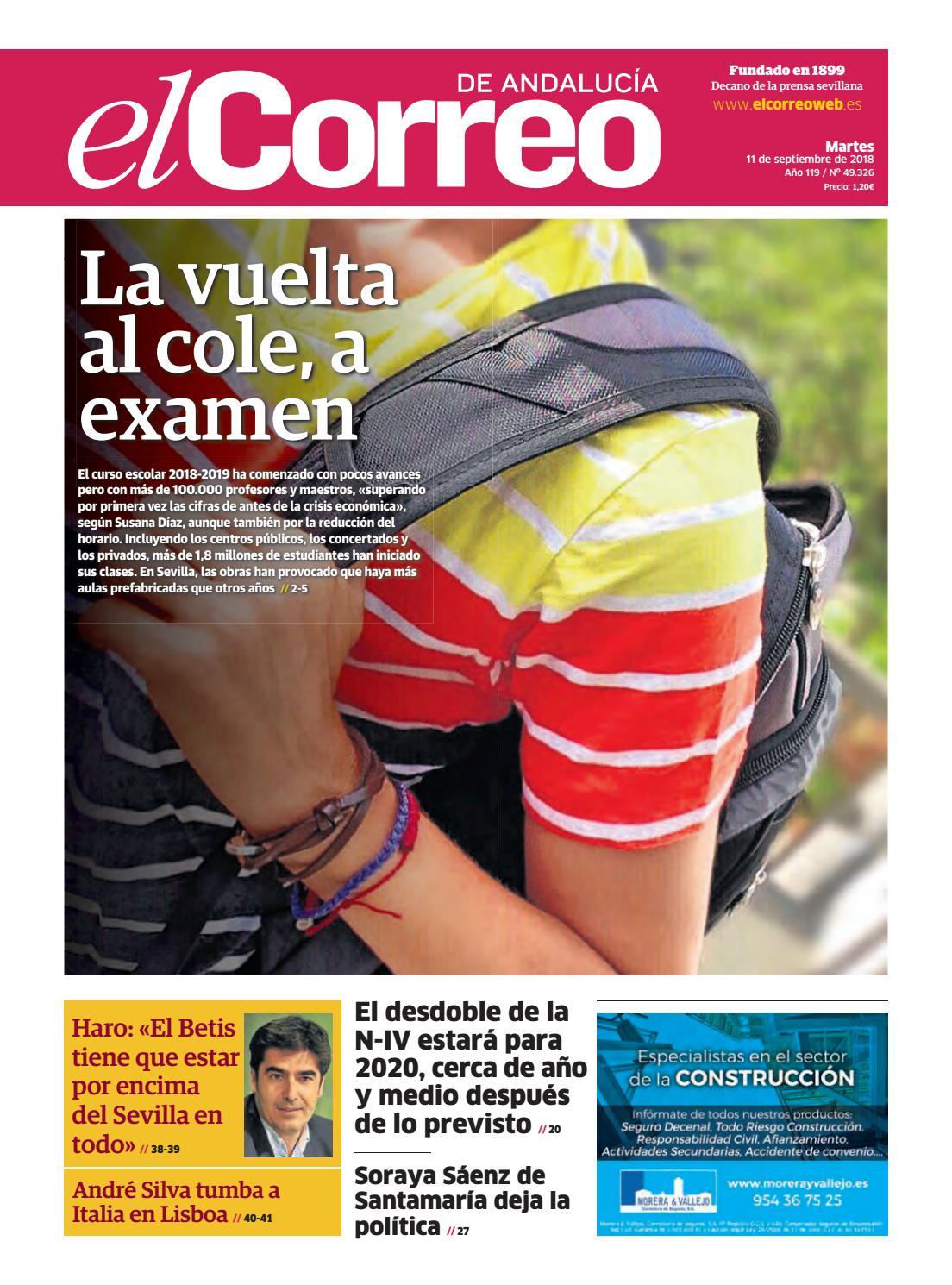 f759ca67c02 11.09.2018 El Correo de Andalucía by EL CORREO DE ANDALUCÍA S.L. - issuu