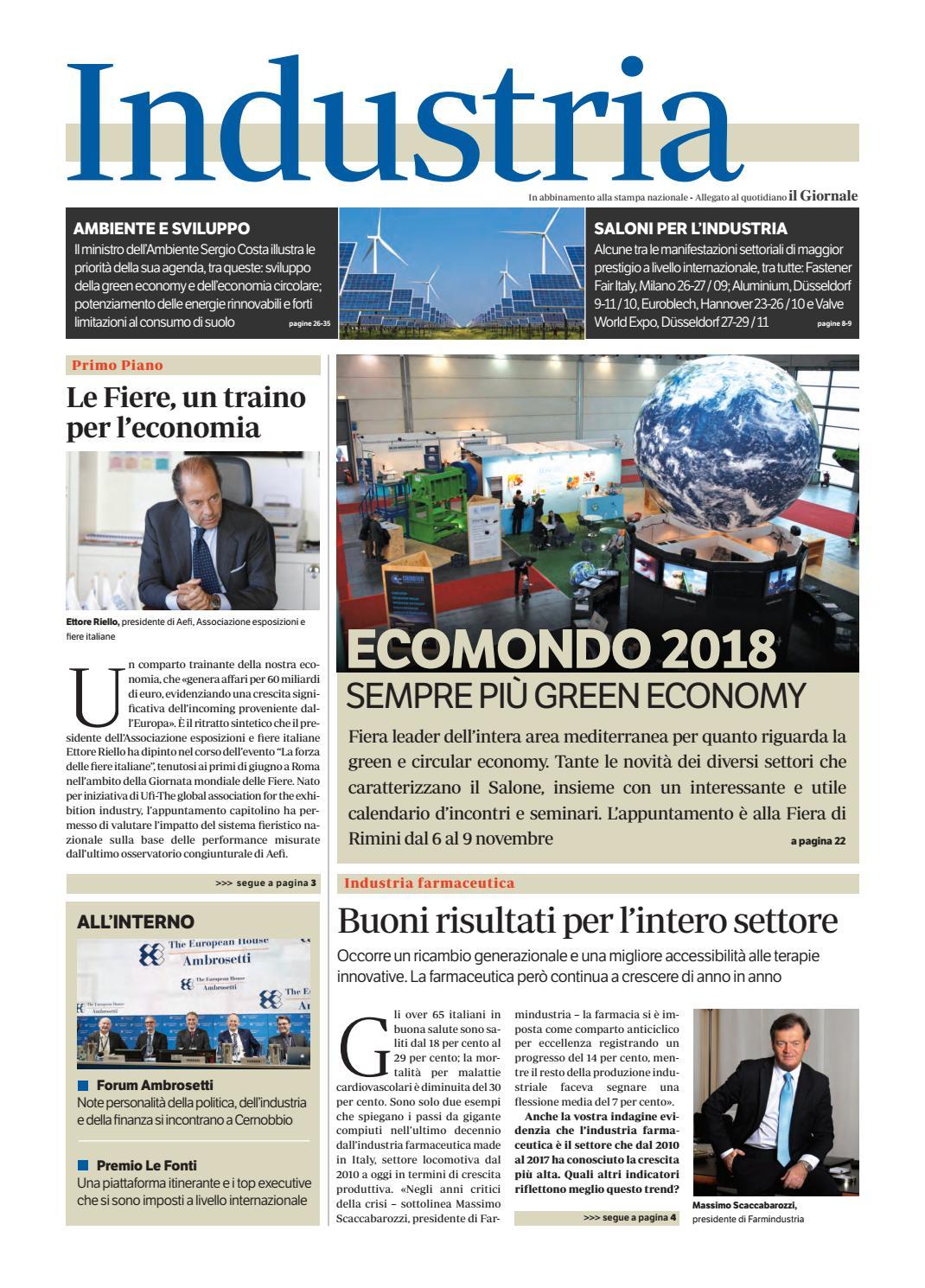 Industria - Ago 2018 by Golfarelli Editore International Group - issuu eaac618eafd8