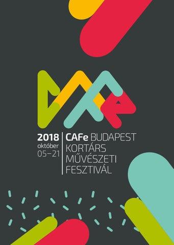 da4f8cb286 CAFe Budapest 2018 by CAFe Budapest - issuu
