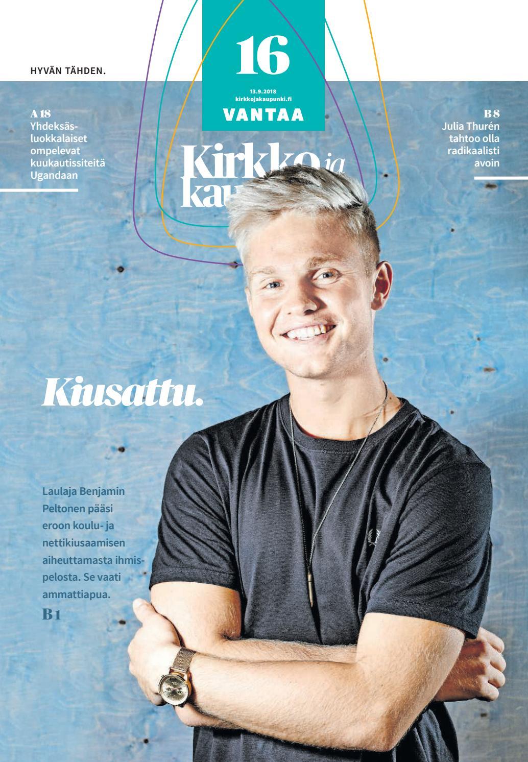 Kirkko ja kaupunki 2018 16 Vantaa by Kirkko ja kaupunki - Issuu