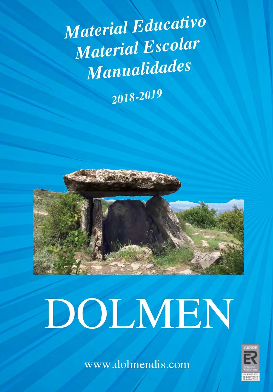 CATÁLOGO DOLMEN 2018 by Dolmendis - issuu
