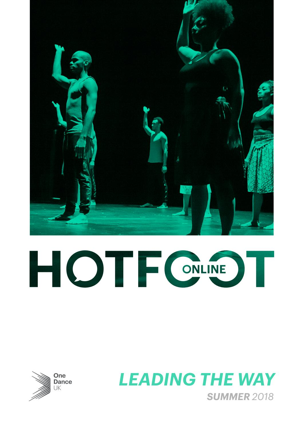HOTFOOT Online | Summer 2018 - Leading The Way by One Dance UK - issuu