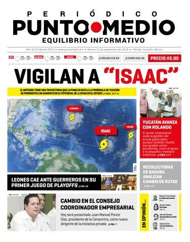 Edición impresa del martes 11 de septiembre de 2018 by Punto Medio ... 91d1157bfd9