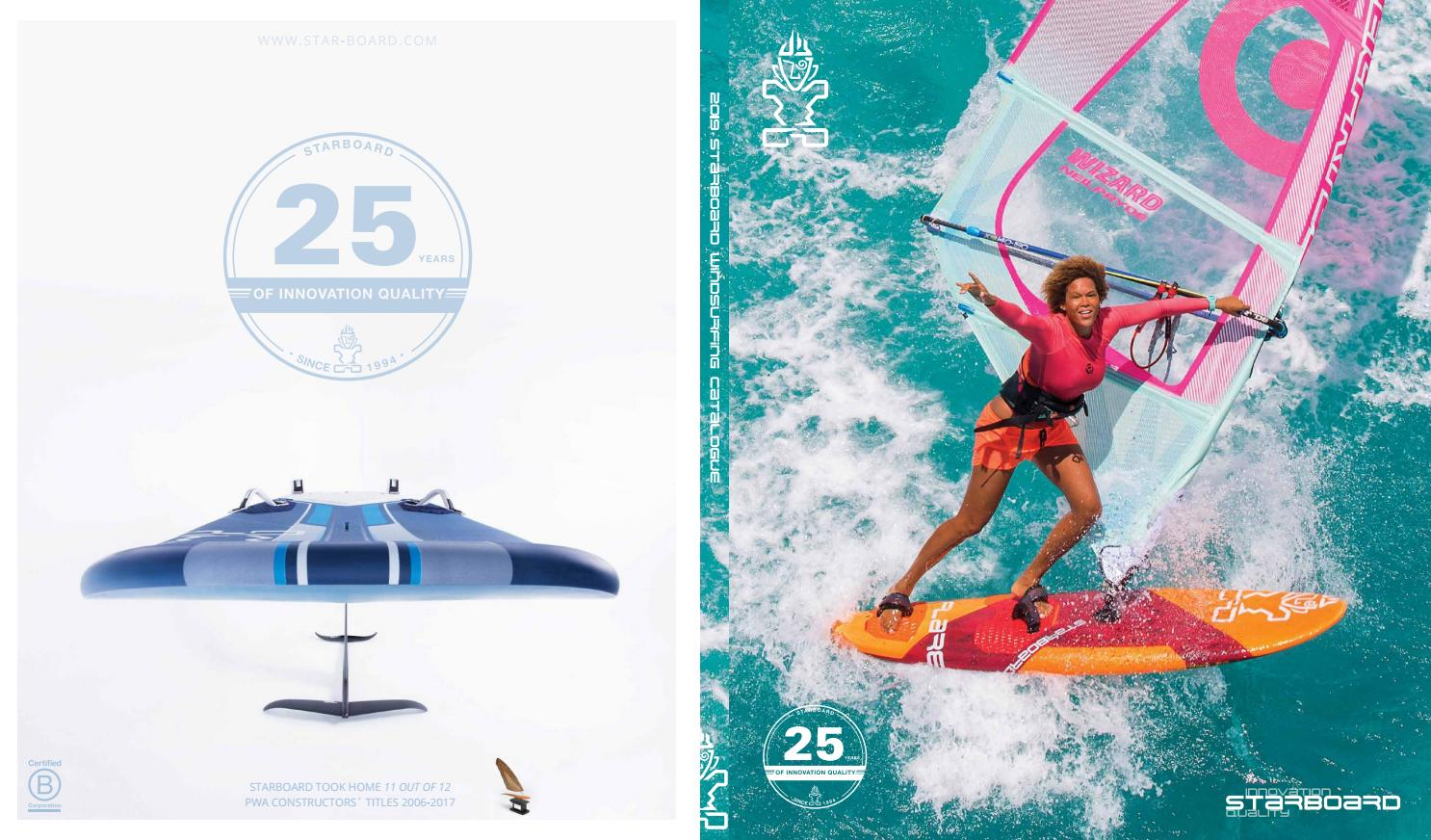 Catalogue Starboard Windsurfing 2019 by Aloha Store - issuu