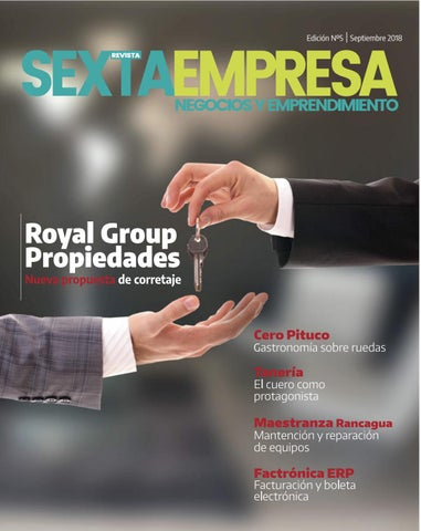 b89faa7a2 Revista Sexta Empresa/edición 5 septiembre 2018 by Revista Sexta ...