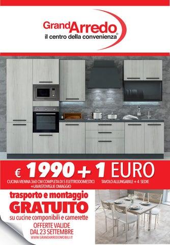 Cucina Completa Di Elettrodomestici Tavolo E Sedie.Volantino Grandarredo By Socialight Issuu