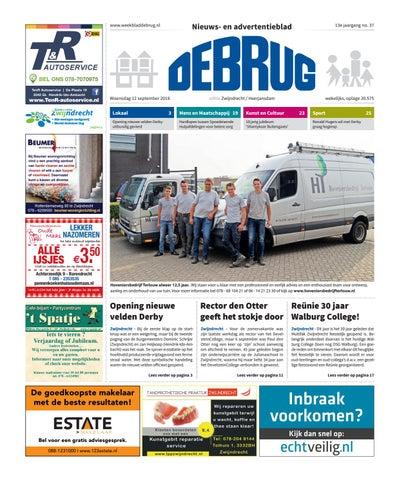 ed45a29ed1a Weekblad De Brug - week 37 2018 (editie Zwijndrecht) by Uitgeverij ...