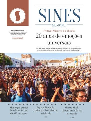e9c64b48cf Sines Municipal 19 (setembro 2018) by Câmara Municipal de Sines - issuu