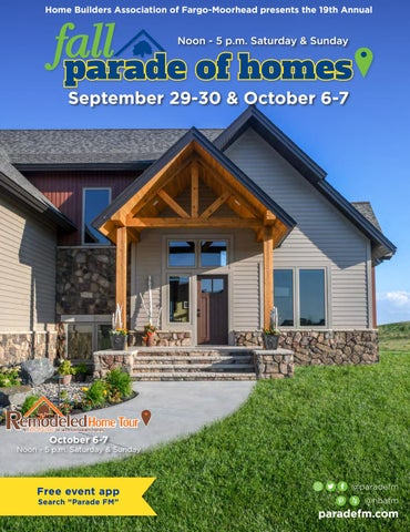 Fall Parade of Homes & Remodeled Home Tour 2018 by Home Builders