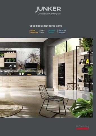 Junker Verkaufshandbuch 2019 De By Junker Einbaugerate Issuu
