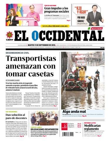 Edición digital 11 de septiembre de 2018 by EL OCCIDENTAL - issuu a89620204a0